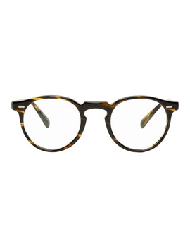 Tortoiseshell Gregory Peck Glasses by Oliver Peoples