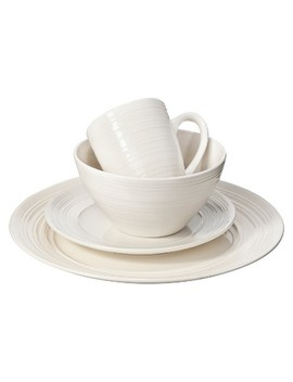 C.C.A. International Ripple 16pc Dinnerware Set by C.C.A. International