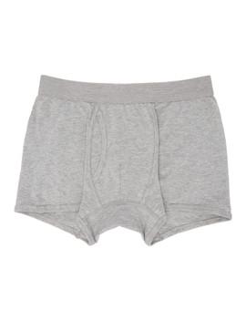 Grey Plain Boxer Briefs by Comme Des GarÇons Shirt