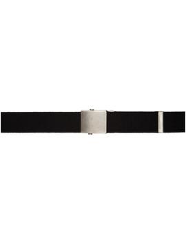Black Studded Belt by Gosha Rubchinskiy