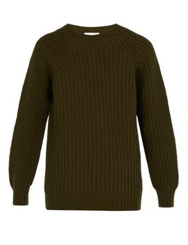 Crew Neck Wool Sweater by Officine Générale