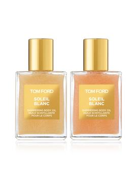Mini Soleil Blanc Shimmering Body Oil Set by Tom Ford