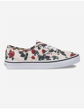 Vans Authentic Roses Womens Shoes by Vans