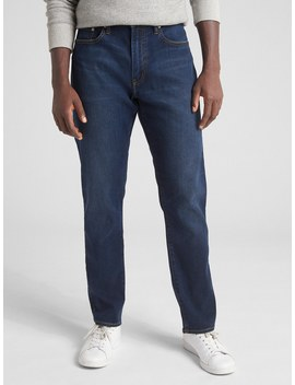Soft Wear Jeans In Athletic Fit With Gap Flex by Gap