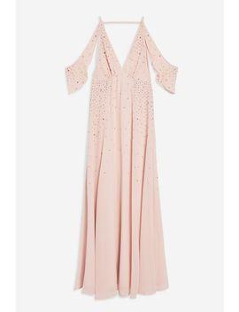 Twist Cut Out Midi Dress by Topshop