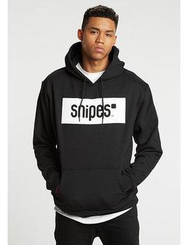 Hooded Sweatshirt Box Logo Black by Snipes
