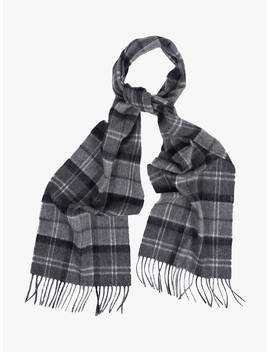 Barbour Merino Cashmere Tartan Scarf by Barbour