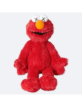 Kaws X Sesame Street Toy (Elmo) by Uniqlo