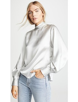 Turtleneck Blouse by Vince