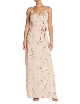 Regina Floral Print Maxi Dress by Paige
