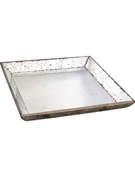 A&B Home Mirror Glass Tray by A&B Home