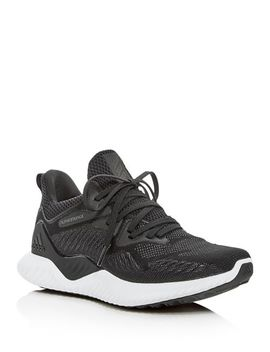 Women's Alphabounce Beyond Lace Up Sneakers by Adidas