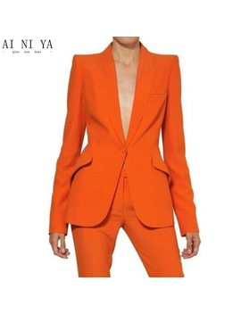 Women Pant Suits Ladies Custom Made Formal Business Office Tuxedo Jacket+Pants Suits Female Office Uniform by Auguswu