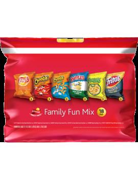 Frito Lay Mix 18ct Family Fun Mix Multipack 16.875oz by Frito Lay