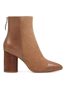 Cabrillo Cylinder Heeled Booties by Nine West