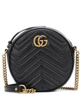 Borsa Gg Marmont Mini In Pelle by Gucci