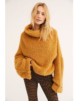 Teddy Bear Pullover Sweater by Free People