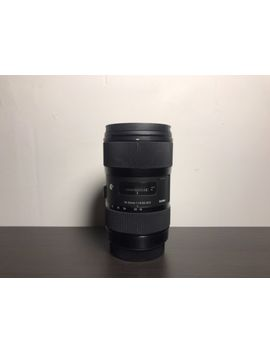Sigma 18 35mm F1.8 Art Dc Hsm Lens (For Canon Apc S Sensor) by Sigma