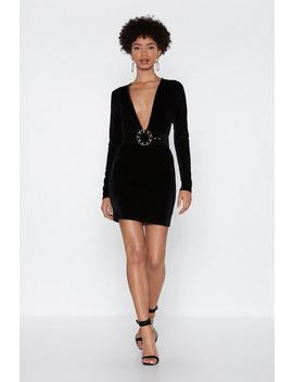 The Award Goes To Velvet Mini Dress by Nasty Gal