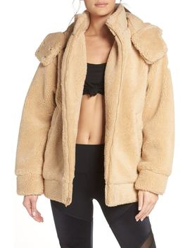 Norte Faux Fur Coat by Alo