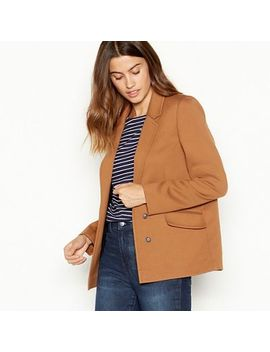 The Collection   Tan Ponte Blazer by The Collection