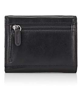 Medium Leather Wallet by Barneys New York