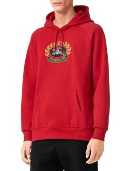 Embroidered Hoodie by Burberry