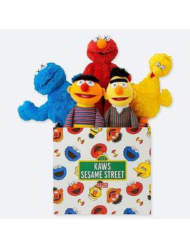 Kaws X Sesame Street Toy Complete Box by Uniqlo