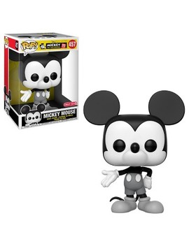 "Funko Pop! Disney Mickey Mouse   10"" Mickey (Exclusive) by Funko"