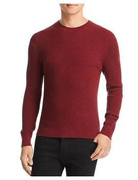 Ribbed Crewneck Sweater   100 Percents Exclusive by Michael Kors