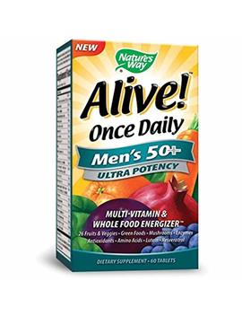 Nature's Way Alive Once Daily Men's 50+ by Nature's Way