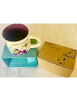 2018 Disney Magic Kingdom Version 3 You Are Here (Yah) Starbucks Mug. Nwt by Starbucks Yah Mugs