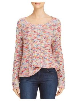 Juna Marled Cable Knit Sweater by Rebecca Minkoff