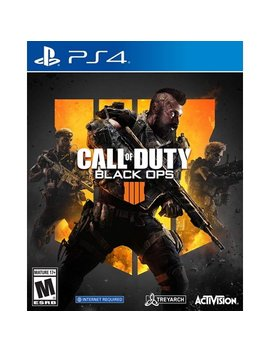 Call Of Duty: Black Ops 4, Activision, Play Station 4, 047875882256 by Activision