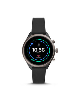Fossil Sport Smartwatch   Black Silicone by Fossil
