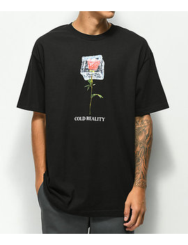 vitriol-cold-reality-black-t-shirt by vitriol