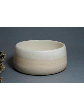 Ceramic Cat Food Bowl.  Modern Food Dishes. Custom  Cream White Dog Feeder. Handmade  Pet Ware. Handmade Pottery Dinnerware. by Etsy