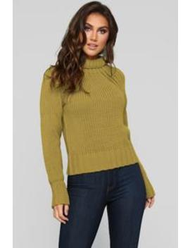 Look Around Sweater   Mustard by Fashion Nova