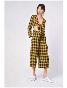 **Tartan Culottes By Glamorous Petites by Topshop