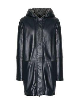 8 By Yoox Кожаная куртка   Пальто и куртки by 8 By Yoox