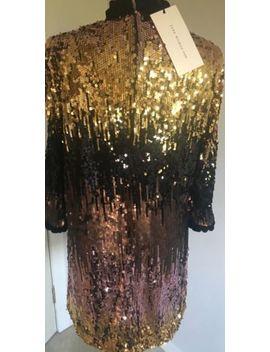 Zara Sequin Dress Ombre Size Large Bnwt by Zara