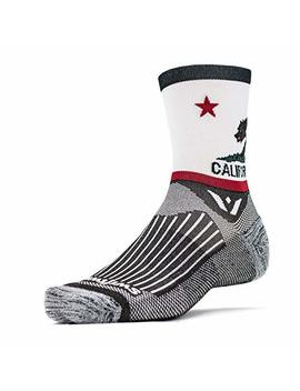 Swiftwick  Vision Five | Socks Built For Cycling | Creative Designs, Fast Drying, Cushioned Crew Socks by Swiftwick