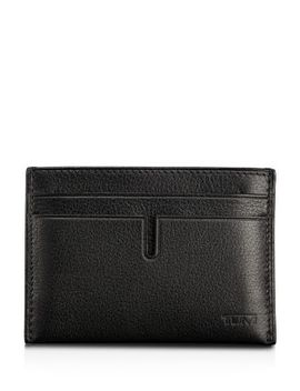 Id Lock™ Chambers Slim Card Case by Tumi