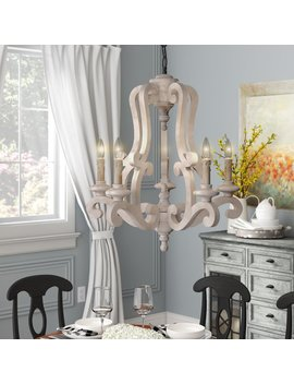 Ophelia & Co. Bella 5 Light Chandelier & Reviews by Ophelia & Co.