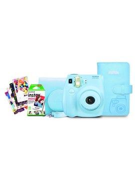 Fujifilm Instax Mini 7s Ltblue Bundle by Fujifilm