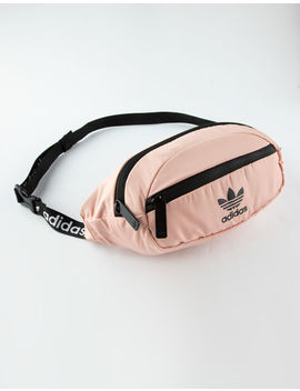 Adidas Originals National Waist Pack Pink Fanny Pack by Adidas