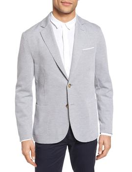 Trim Fit Jersey Blazer by Eleventy