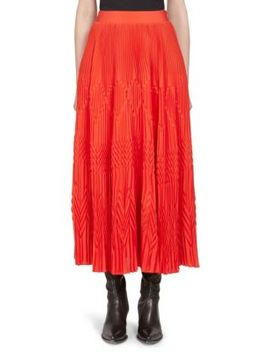 Pleated Ankle Length Skirt by Givenchy