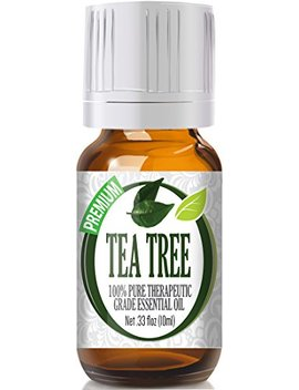 Tea Tree 100 Percents Pure, Best Therapeutic Grade Essential Oil   10ml by Healing Solutions