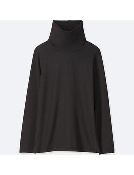 Kids Heattech Turtleneck Long Sleeve T Shirt by Uniqlo